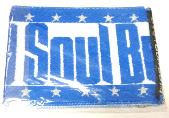 三代目J Soul Brothers BLUE IMPACT マフラータオル