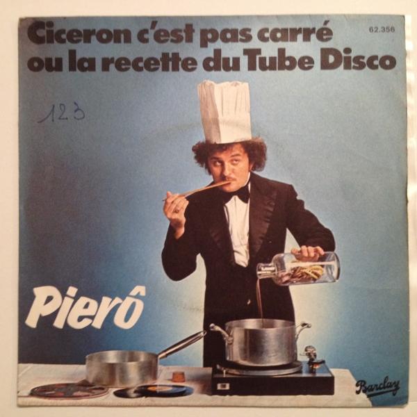 ◇Piero/Ciceron Cest Pas Carre◇仏DISCO!_画像1