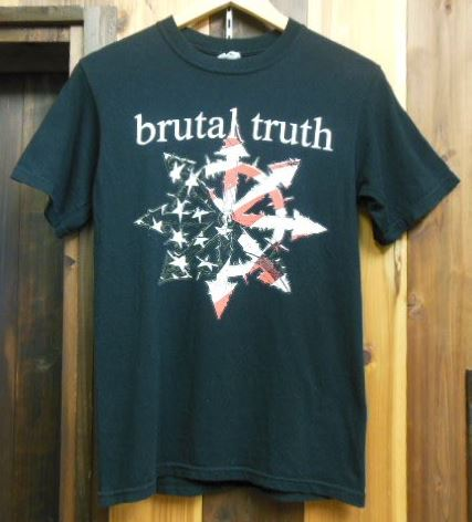 BRUTAL TRUTH Tシャツ CORRUPTED ANAL CUNT BRUJERIA Haunted