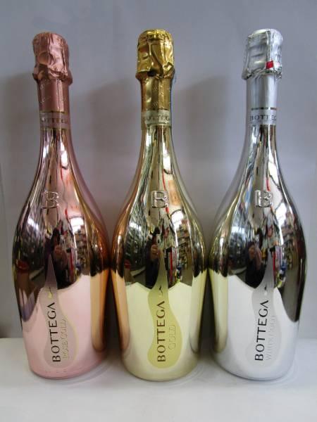 ボッテガ 3種類 スパークリングワイン_画像1