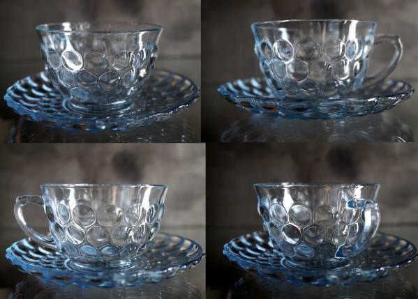 ファイヤーキング サファイヤブルー バブル カップ&ソーサーC&S_画像2