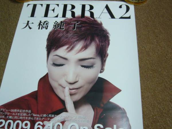ポスター 大橋純子 TERRA2