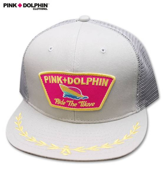 Pink Dolphin メッシュキャップ Justin等愛用