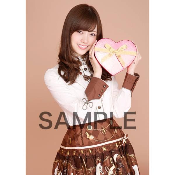 即決 限定 乃木坂46 2月個別生写真セット バレンタイン 白石麻衣