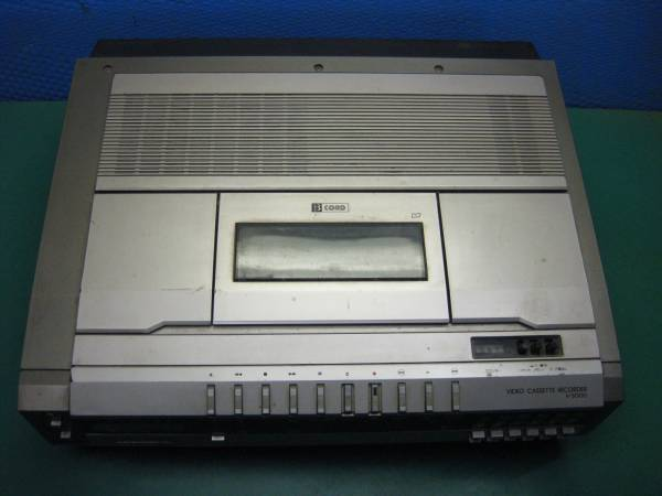 【D57】東芝 V-500D カセットVTR ベータ βcord ジャンク_画像2