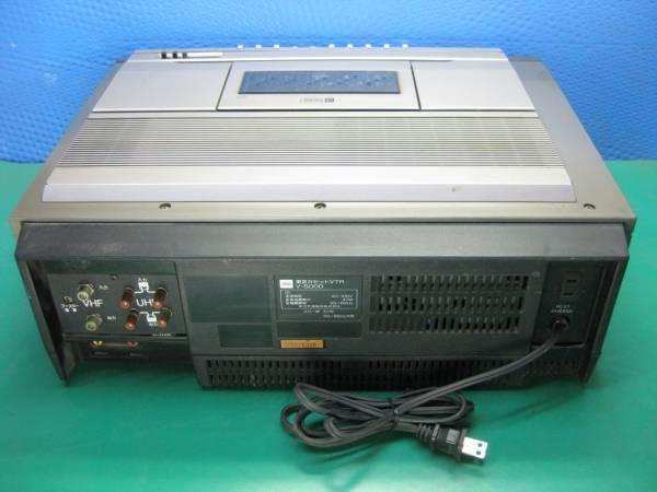 【D57】東芝 V-500D カセットVTR ベータ βcord ジャンク_画像3