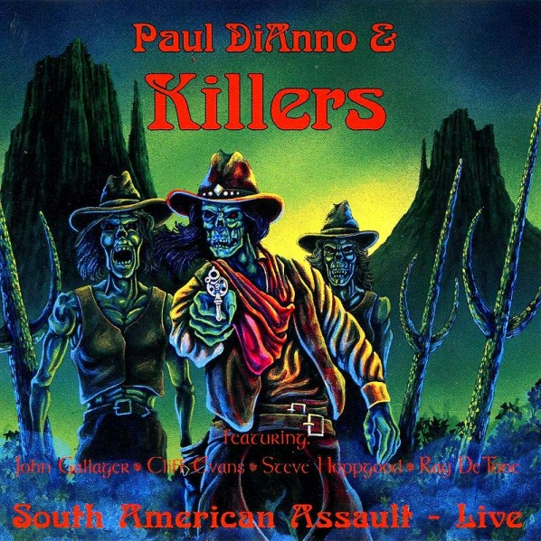 ★★PAUL DIANNO & KILLERS◆LIVE ポール・ディアノ キラーズ Di'Anno IRON MAIDEN アイアン・メイデン 即決★★
