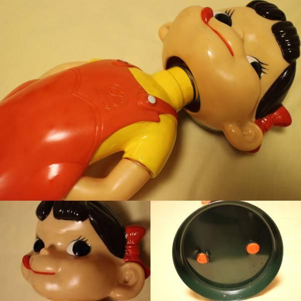 レア  不二家 ミルキー 首振りペコちゃん人形 約47cm_画像2