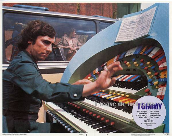 The Who 1975年 ザ・フー 映画 『Tommy』 ロビーカード 3枚付き