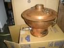 しゃぶしゃぶ鍋 ◆都市ガス用 ◆純銅 ◆業務仕様