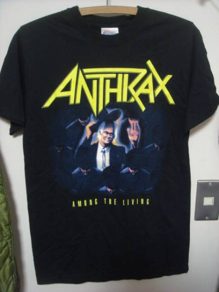 1408AnthraxアンスラックスAmong the LivingロックTシャツMETALメタルROCK
