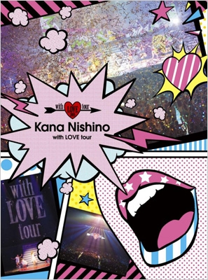 即決 西野カナ with LOVE tour 初回生産限定盤 DVD 新品未開封 ライブグッズの画像