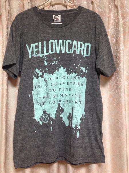 送料164円 YELLOWCARD イエローカード バンド Tシャツ Mサイズ
