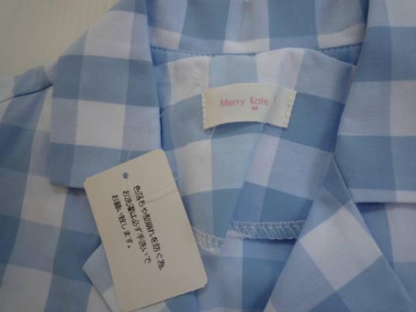 【新品・半額!!】 ■Merry Kate■ 韓国子供服 前結びシャツ M_画像3