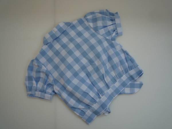【新品・半額!!】 ■Merry Kate■ 韓国子供服 前結びシャツ M_画像2