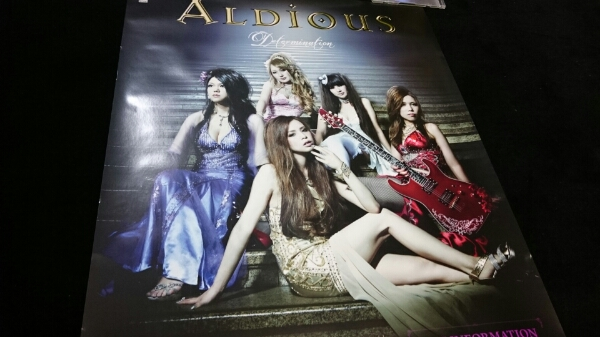新品 アルディアス ポスター ALDIOUS トキ