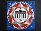 インターフルーク■ブランデンブルク門■ステッカー■1960's