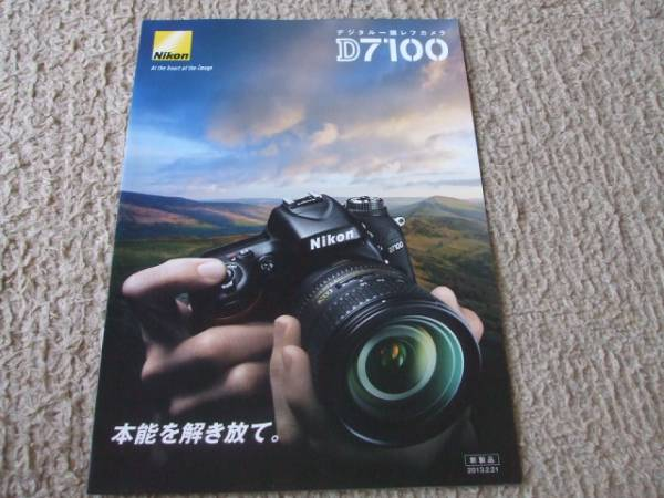 A887カタログ*ニコン*D7100*2013.2発行6P
