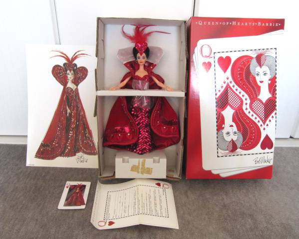 BARBIE バービー ボブ マッキー QUEEN OF HEARTS by BOB MACKIE_画像1