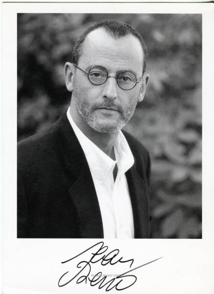 Jean Reno ジャン・レノ 直筆 サイン フォト 額装済