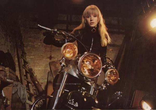 1968年映画あの胸にもういちど マリアンヌ・フェイスフル写真3枚