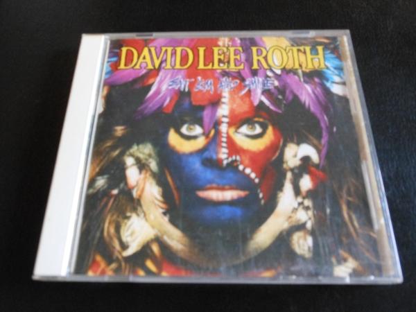 デイヴィッド リー ロス EAT 'EM AND SMILE (新品で購入) David Lee Roth イート エム アンド スマイル CD / デイヴ Steve Vai ヴァイ_画像1