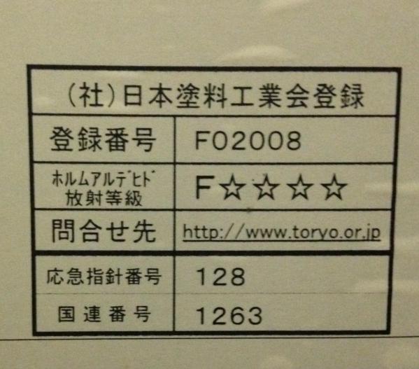 木工用 富士塗料工業所 ラッカークリヤー NTX CF-8170-30 4L 3分艶消_画像3