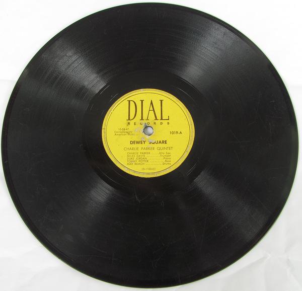 78rpm SP盤 オリジナル盤 Charlie Parker Dial 1019 チャーリー・パーカー Miles Davis Dewey Square マイルス・デイビス This Is Always_画像3