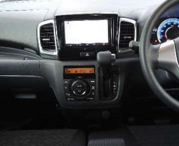 H25年から スペーシア スペーシアカスタム MK32S MK42S 社外オーディオ取付けパネル S26S_パネル使用時取付イメージ画