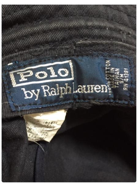 Polo by Ralph Lauren バケットハット ポロ ラルフローレンS/M紺_画像3