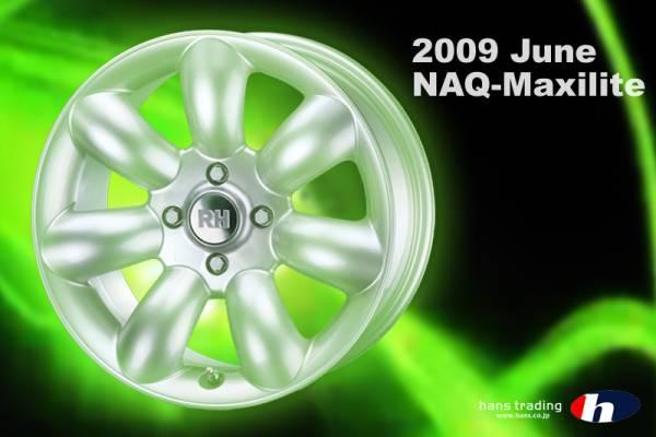 #RH NAQマキシライト17インチ !205/40-17タイヤ付き新品セット(要在庫/納期確認)_画像1