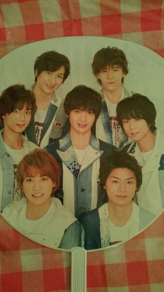 新品 Kis-My-Ft2 カウコン 2015-2016 うちわ 送料250円 手渡し可