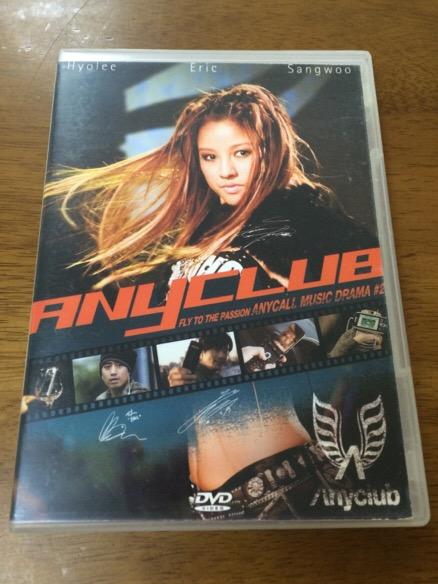 N3/DVD Anyclub イヒョリ クォンサンウ エリック神話Music Drama ライブグッズの画像