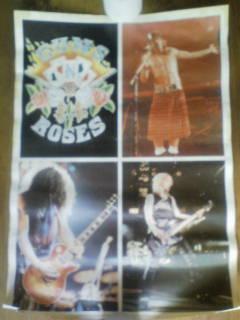 ポスター Guns N' Roses ガンズ・アンド・ローゼズSlash AxlRose