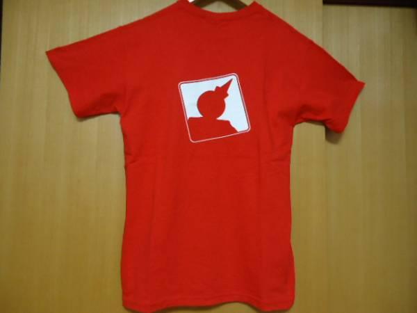値下げ ハワイ ジャックインザボックス スタッフ 赤色 Tシャツ M ハンバーガー_画像3