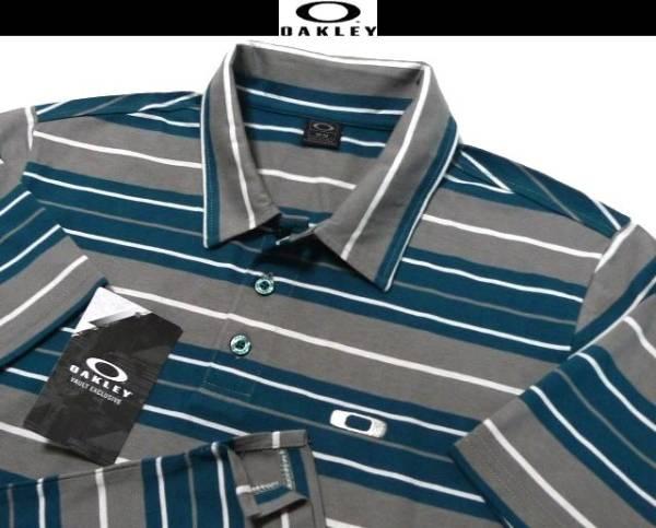 XL(US)XXL位【値下SALE & 2点送無料】新品 オークリー USA限定 4方向伸縮ストレッチ ポロシャツ 日本未発売3L 2XL XO位 大きい