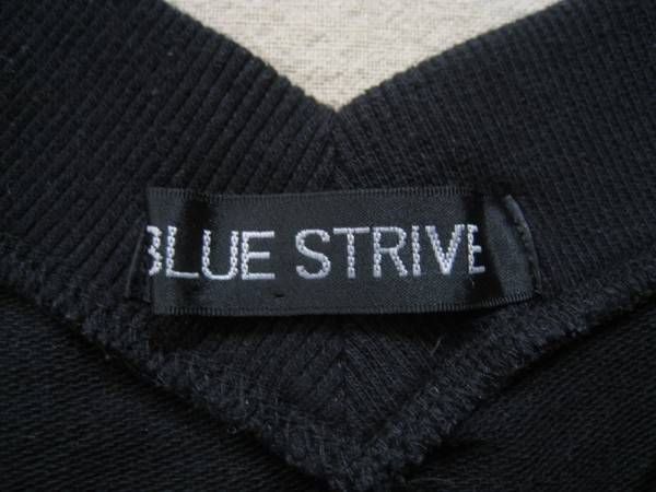 【お買い得!】 ◆ BLUE STRIVE ◆ ラグランVネックトレーナー 黒 M_画像3