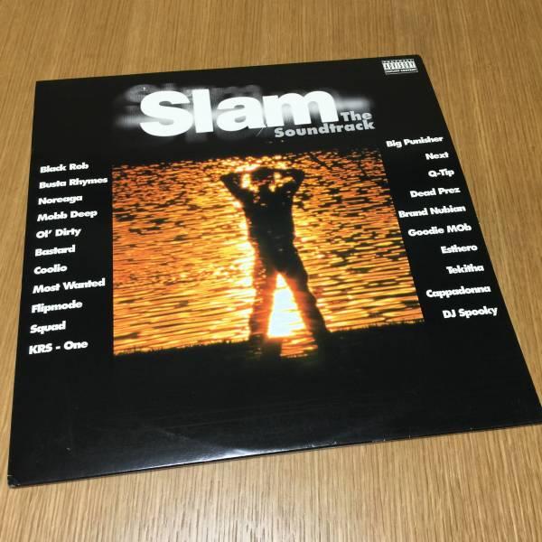 【送料無料】SLAM THE SOUNDTRACK US盤 2LP サントラ Big Pun feat. Next Q-Tip Ol' Dirty Bastard Mobb Deep KRS-One【アナログレコード】_画像1