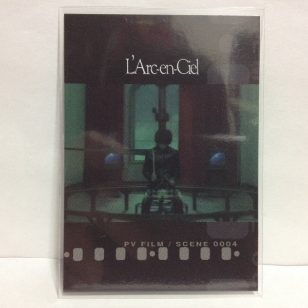 L'Arc~en~Ciel TRADING CARD PERFECT COLLECTION 再販 No.121