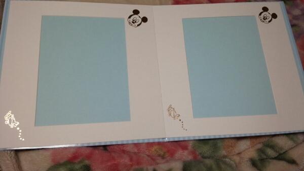 写真台紙6切用●タテヨコ兼用●ベビーミッキー●富士フイルム_画像2