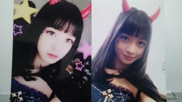 橋本環奈☆悪魔カンナ生写真2枚セット