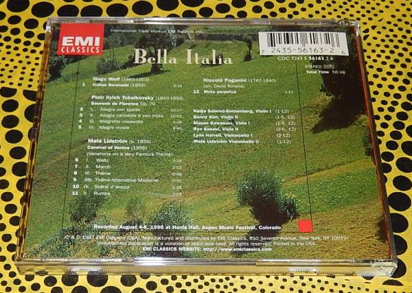 EMI ナージャ・サレルノ=ソネンバーグ  Bella Italia ♪_画像3