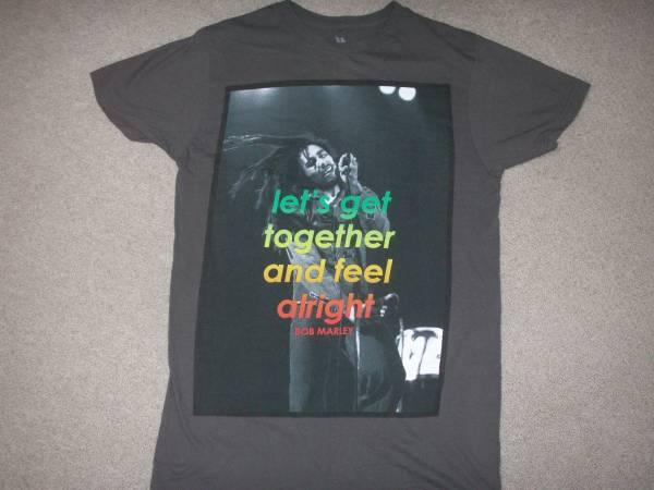 BOB MARLEY Tシャツ④ THEWAILERS ASWAD INNERCIRCLE