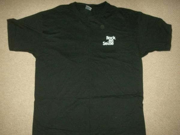 ROCK en SEINE FESTIVAL 2005 Tシャツ サマソニ フジロック