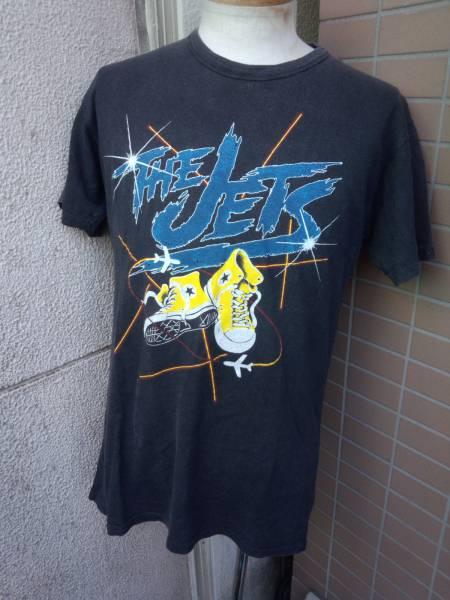 即決 ザジェッツ THE JETS 80S ヴィンテージ ビンテージ バンド ツアー ライブ Tシャツ CRUSH TOUR 黒