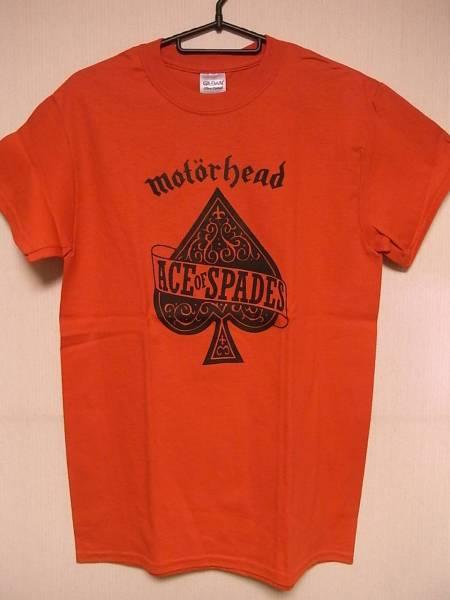 新品Tシャツ★モーターヘッド★MOTORHEAD/ACE OF SPADES★赤★S
