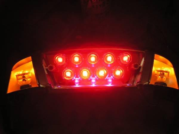 ★ アドレスV100 激安 LED テール ユニット ★_ストップ灯