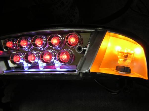 ★ アドレスV100 激安 LED テール ユニット ★_ポジション灯