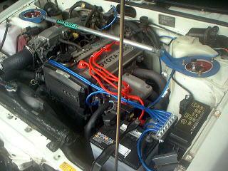 ■TOYOTA トヨタ AE86 レビン トレノ 4AG16V 4AG20V 全グレード対応 全車共通設定 ダイレクトアーシングKIT■ノイズ低減&音質向上■_画像3