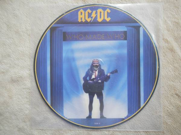 【10】ACDC/WHO MADE WHO(DJ10A9425欧州製100枚限定PICTURE DISC未使用品UNPLAYED)_画像1